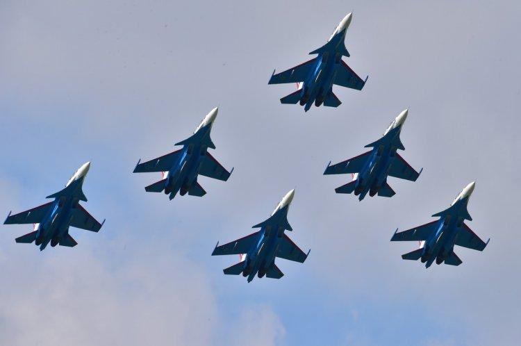 «Русские Витязи» выступят на пермском авиашоу