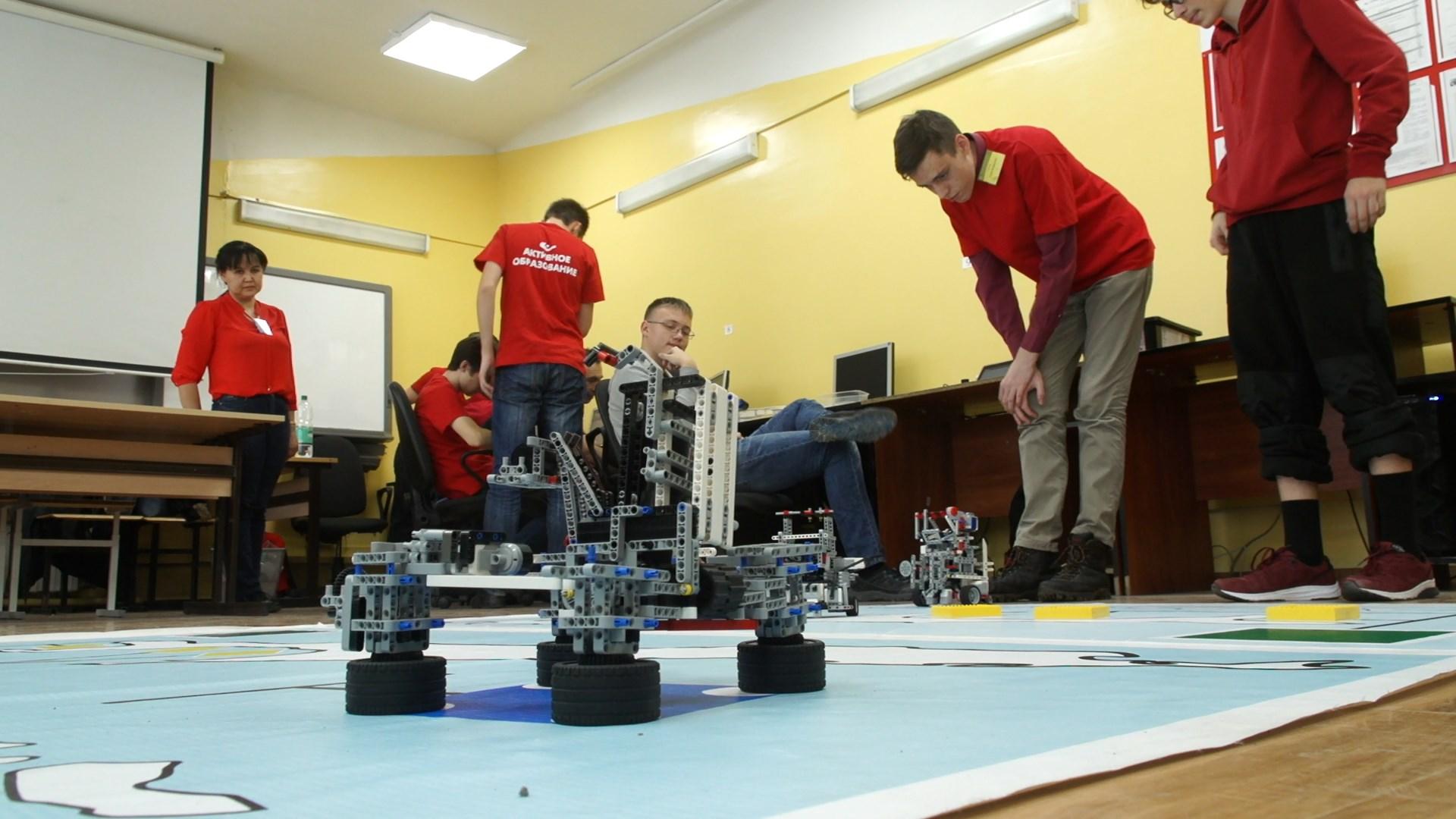 Пермских школьников отправят на сиднейский чемпионат по робототехнике