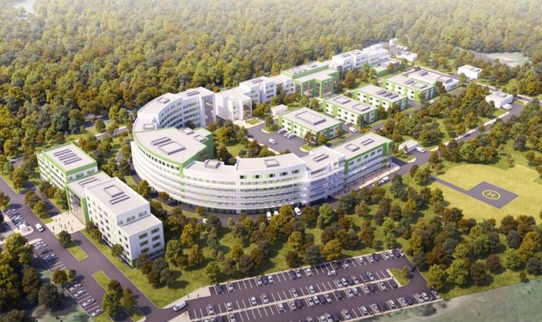 Новая инфекционная больница появится в Перми в 2022-м году