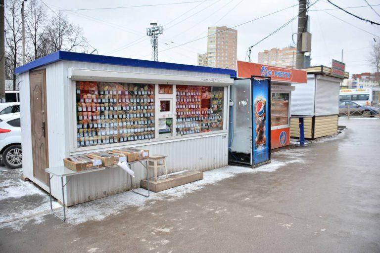 Железнодорожников оштрафовали за нелегальное размещение НТО
