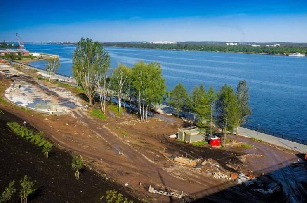 Часть набережной Камы в Перми переходит в муниципальную собственность