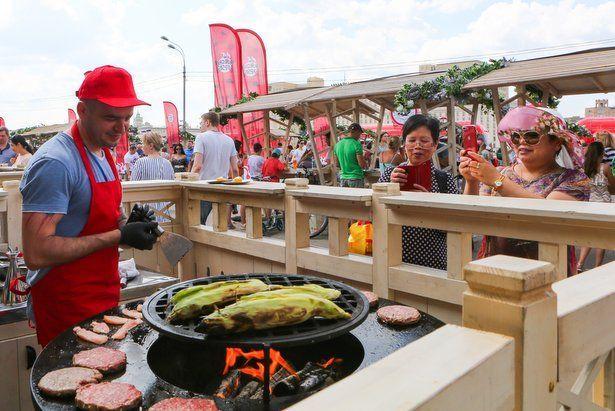 Семь тысяч пермяков посетили первый день гастрономического фестиваля