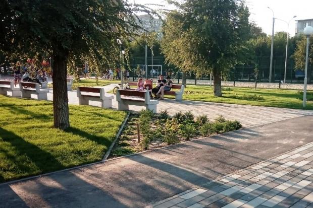 В Перми продолжается благоустройство парка имени Горького