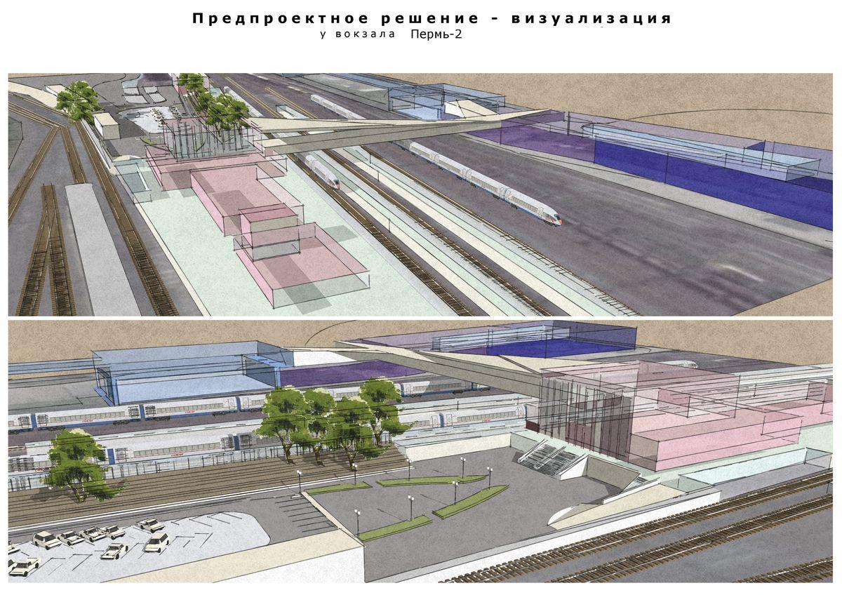 Утверждена планировка нового ТПУ «Пермь-II»