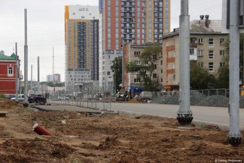 Одну из улиц Перми существенно расширят для автомобильного движения