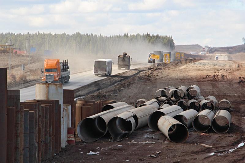 Желающих строить дорогу Пермь — Екатеринбург не нашлось