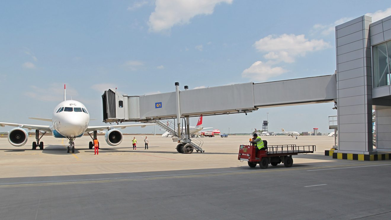В пермском аэропорту в следующем году появятся телетрапы