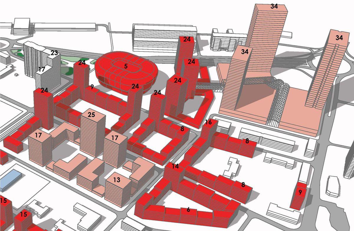 В пермском микрорайоне ДКЖ построят концертно-спортивный комплекс