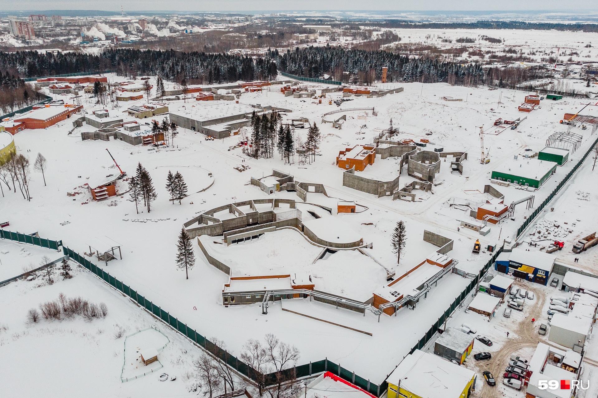Строительство пермского зоопарка приостанавливается