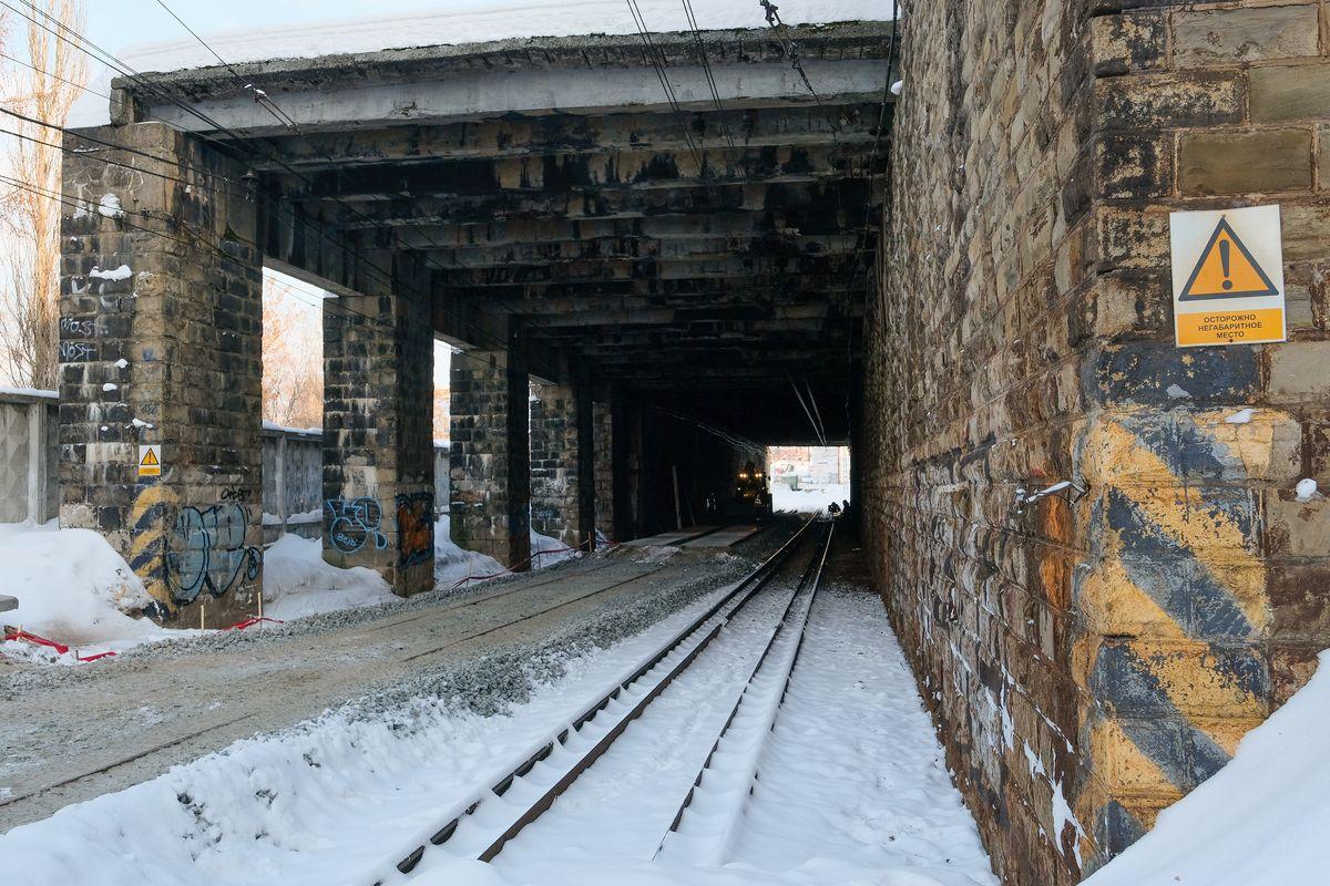 В 2023-м году завершится капитальный ремонт путепровода на Монастырской