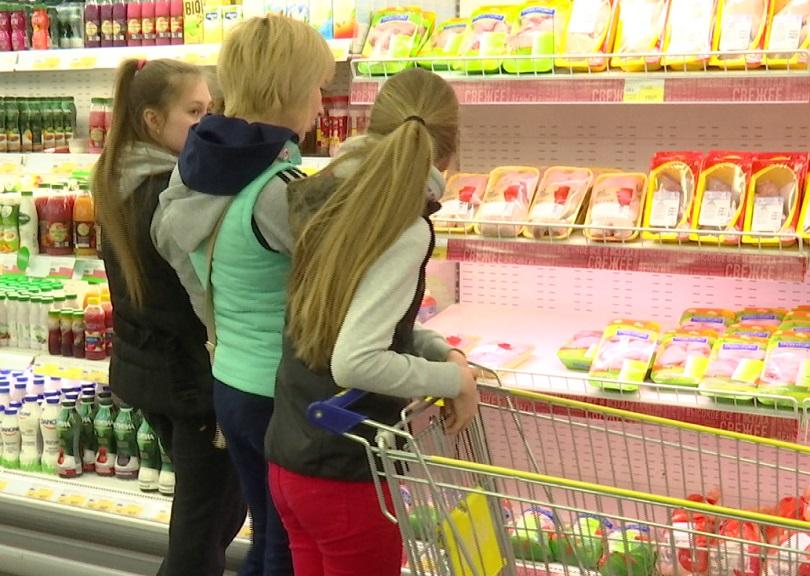 В Прикамье растут цены на продукты
