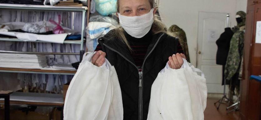 Ежедневно в Прикамье производят 70 тысяч масок