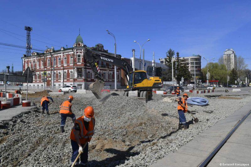 «ТехДорГрупп» будет ремонтировать часть дороги от Комсомольского проспекта