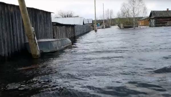 Районам Прикамья грозит подтопление