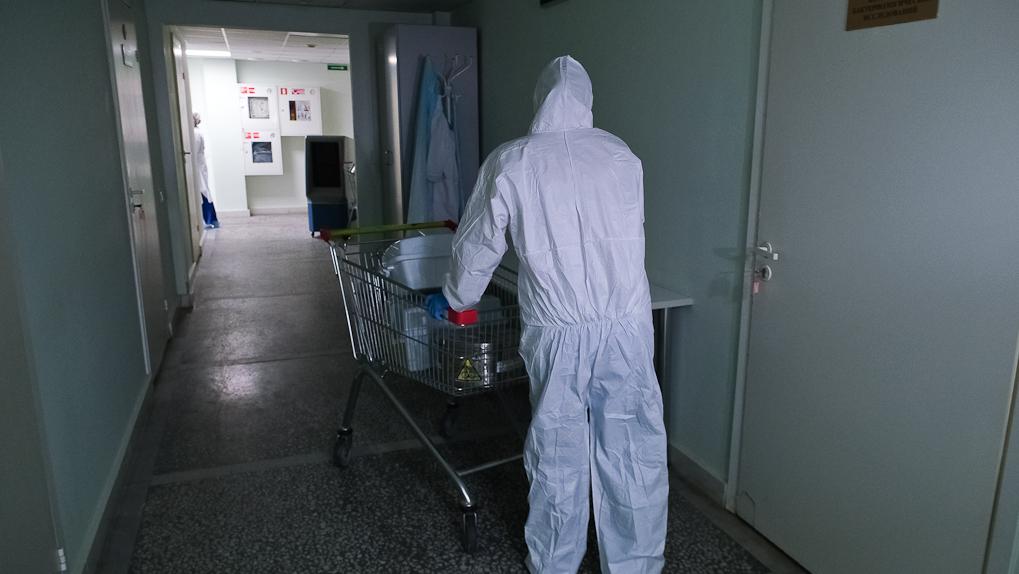 Открывается новое отделение по лечению больных коронавирусом