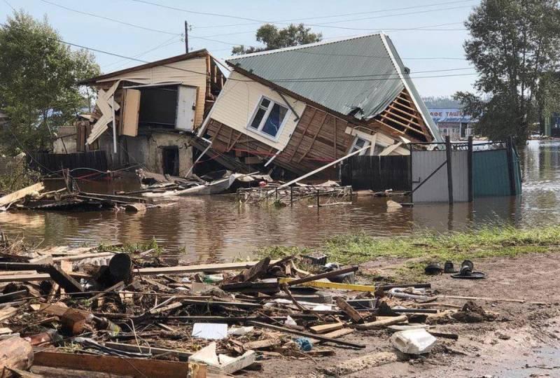 В Пермском крае выделяют средства для людей, пострадавших от наводнения