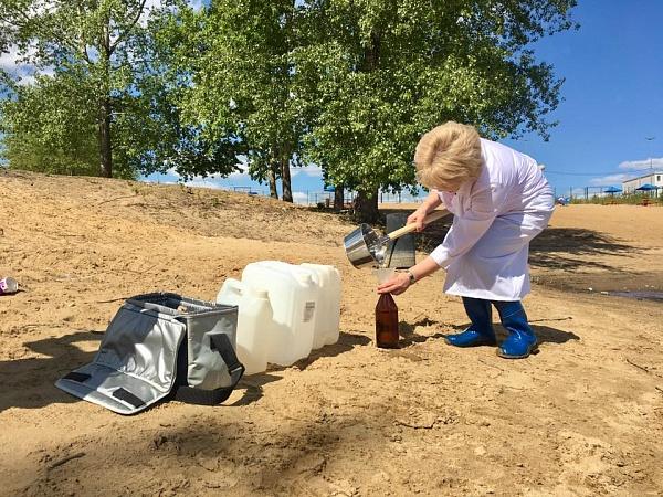 Санитарное ведомство проверило качество воды на пляжах Перми