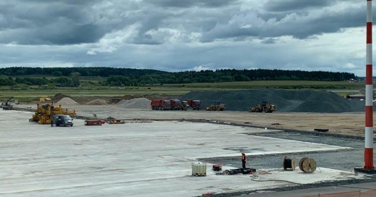 Осенью завершится реконструкция пермского аэропорта