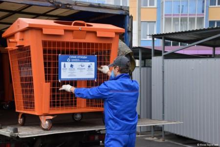 В Перми активно устанавливают контейнеры для раздельного сбора мусора
