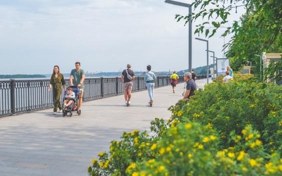 На набережной Перми запрещено ездить на велосипедах, самокатах и роликах