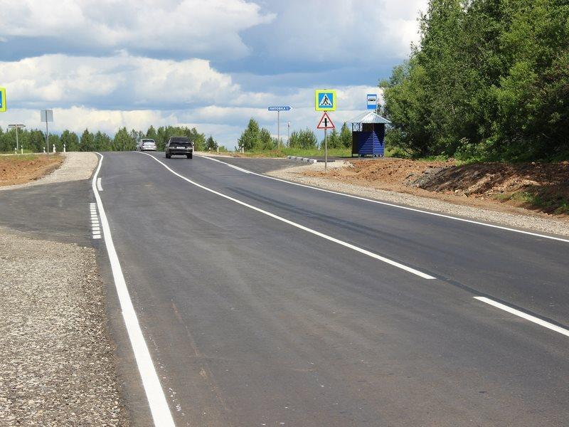 Шесть километров дорог сдали в Прикамье в рамках «БКАД»