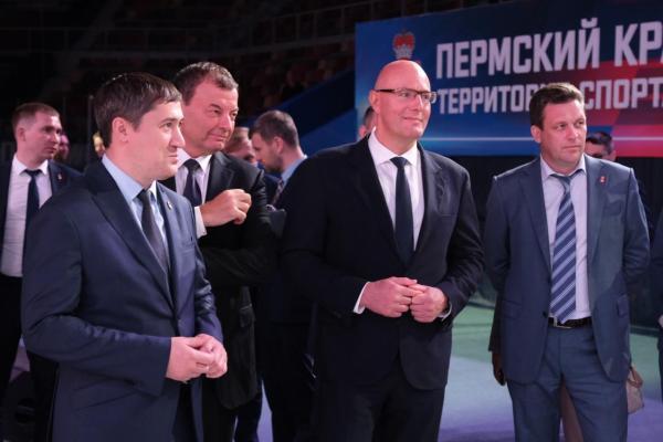 Вице-премьер РФ поддержал строительство многофункциональной арены в Перми