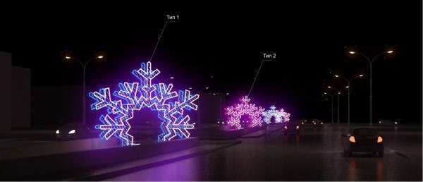 Около 2,7 миллиона рублей потратят в Перми на новые арт-объекты к Новому году