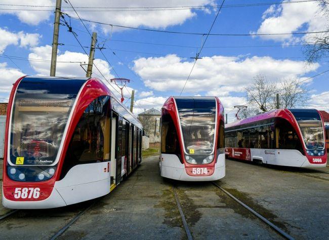 Пятнадцать новых трамваев купит Пермь