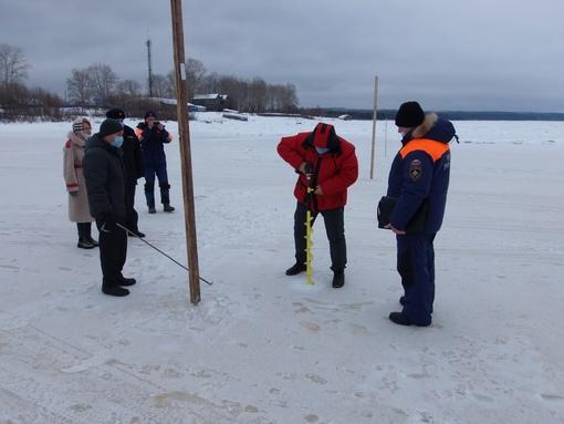 Две ледовые переправы открываются в Прикамье