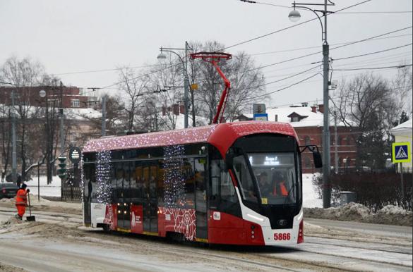 В Пермь прибудут новые трамваи