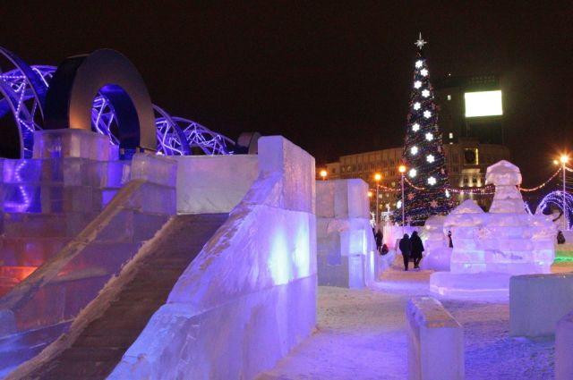 В Перми открываются ледовые городки