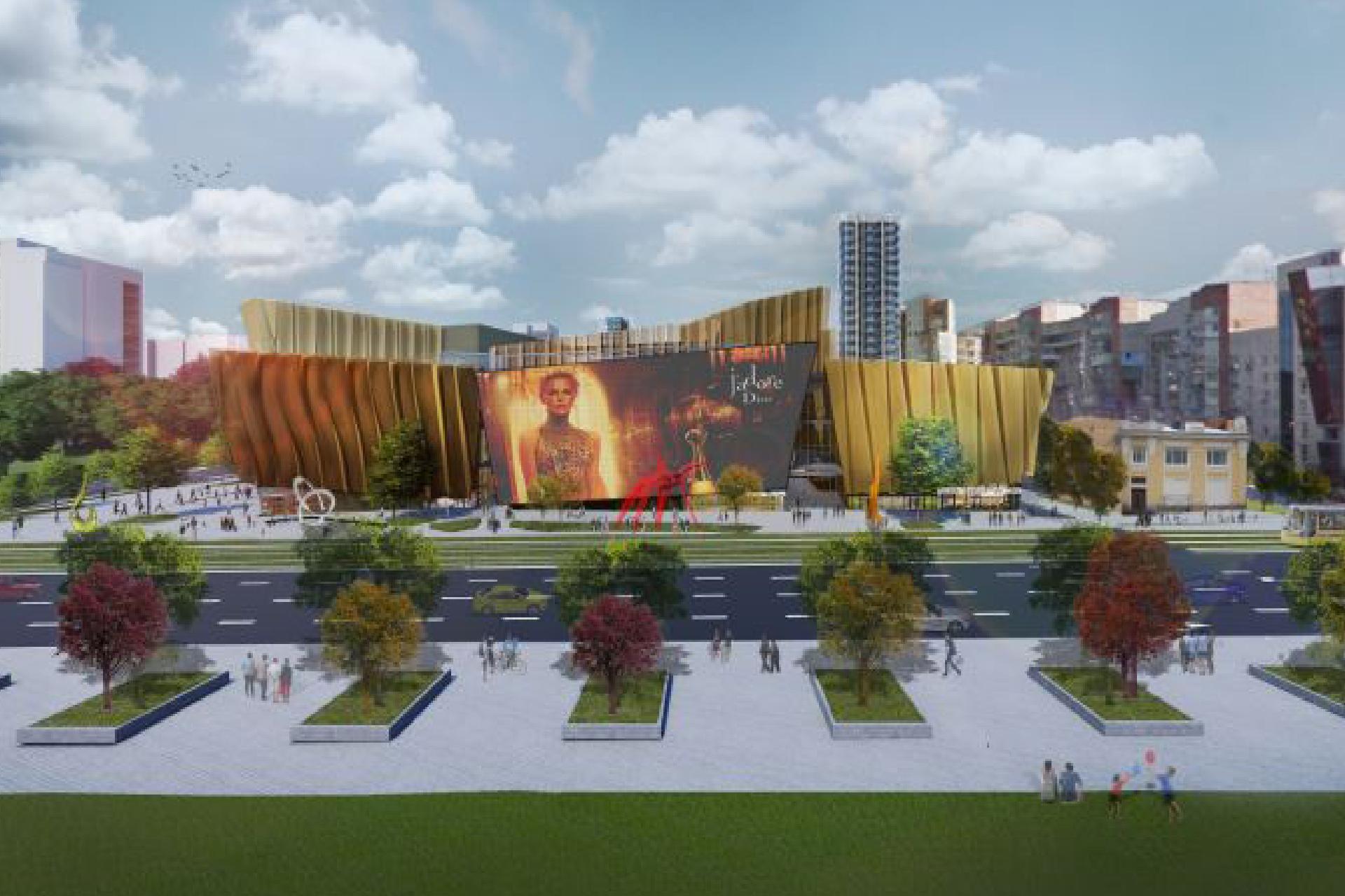 В Перми начали строить отель Radisson