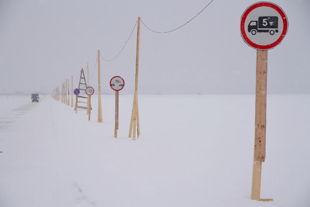 Десять ледовых переправ открылось в Прикамье