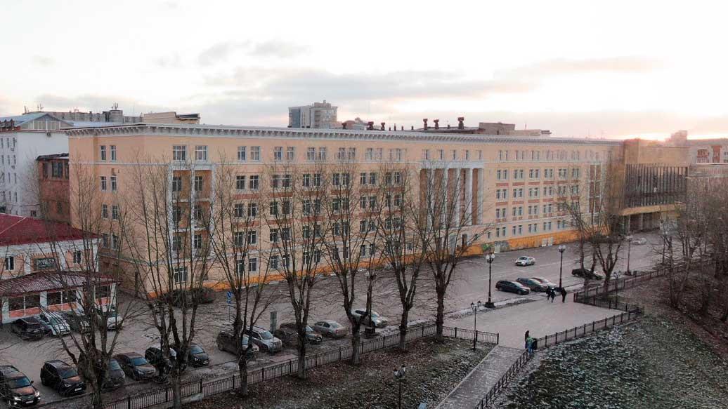 Здание ВКИУ включили в перечень объектов с признаками культурного наследия