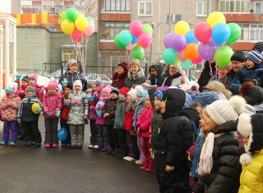 Новый детсад открылся в Перми