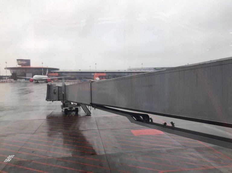 В пермском аэропорту прекратили работать телетрапы