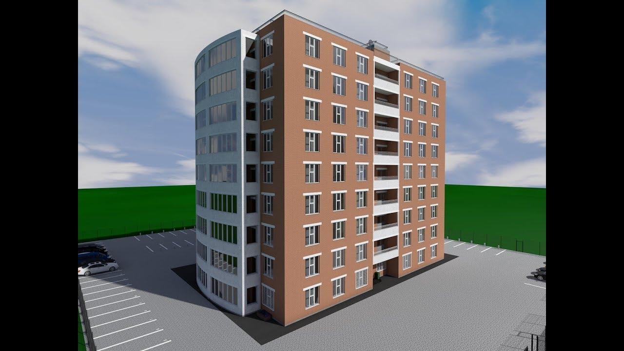 В Дзержинском районе построят десятиэтажный жилой дом
