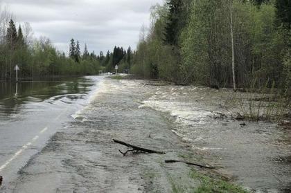 Паводок в Пермском крае начнётся двум неделями ранее обычного