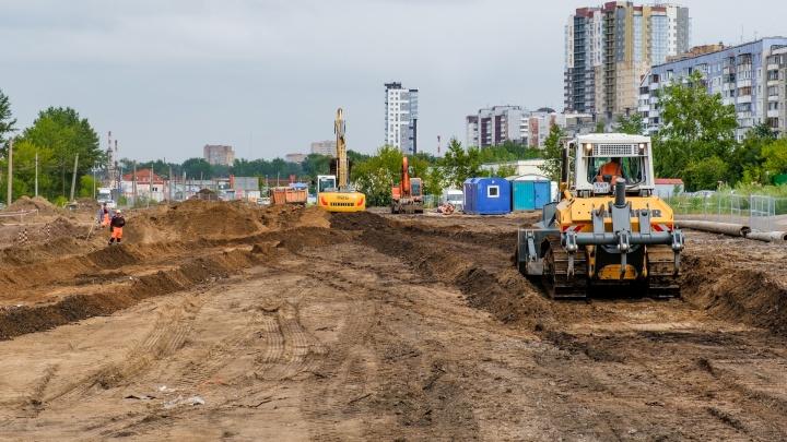 Глава Перми ознакомился с ходом ремонта улицы Строителей