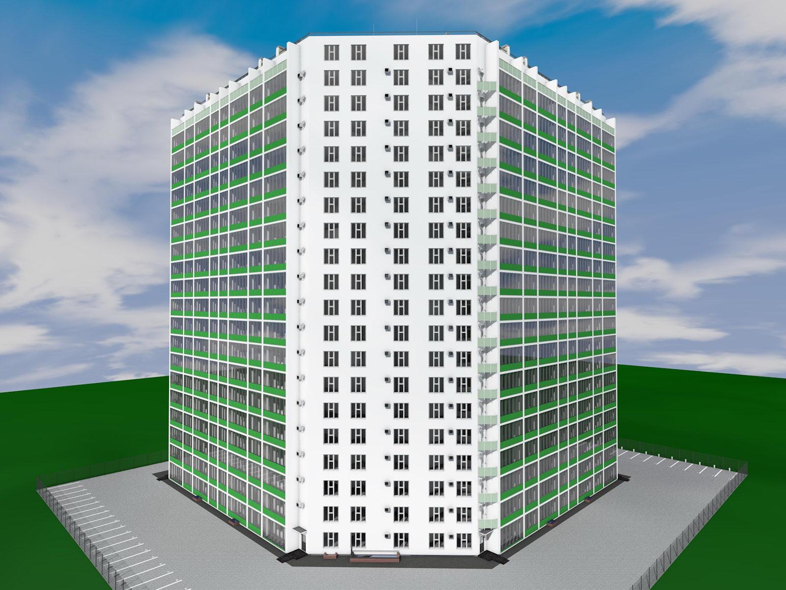 На Парковом может появиться девятнадцатиэтажный жилой комплекс