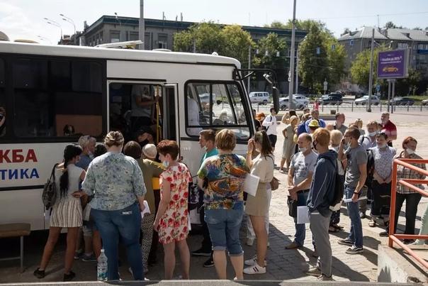 В Перми закрываются мобильные пункты вакцинации