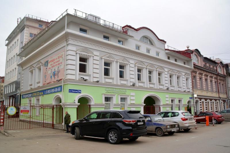 В Перми на улице Пермской, 70