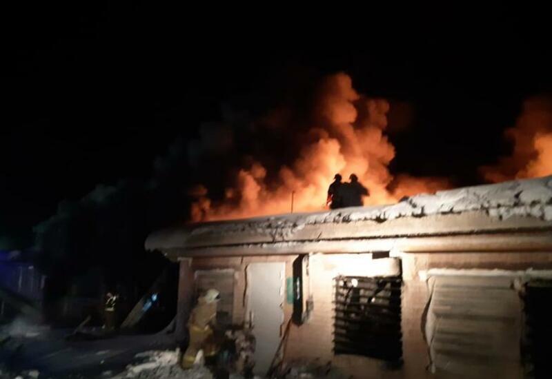 На прикамской птицефабрике произошёл крупный пожар