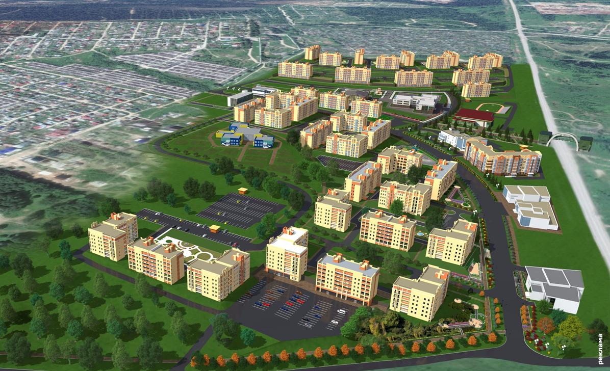 В микрорайоне Запруд могут построить жилой комплекс
