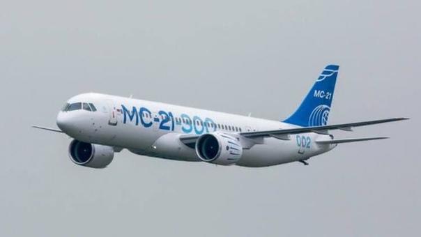 В Перми испытывают самолет МС-21