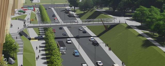 Надземный пешеходный переход будет построен в Перми на улице Попова